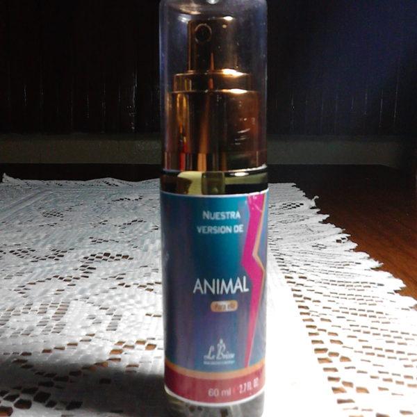 Tendencia Perfume Animal Versión por Lebrisse